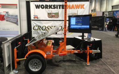 The Worksite Hawk: Wowing the Industry at World of Concrete 2015!